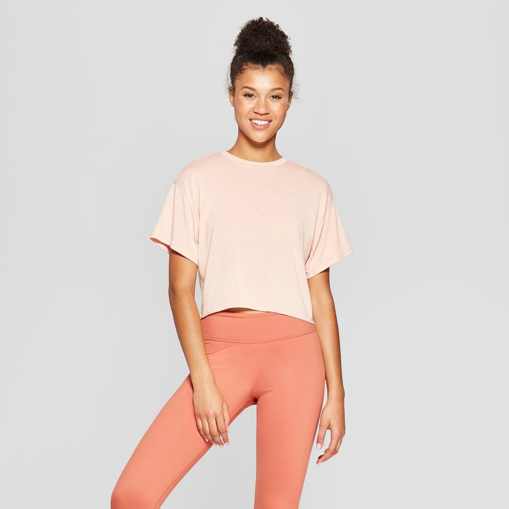 Women's Tie Back T-Shirt - JoyLab Dusty Pink Xxl