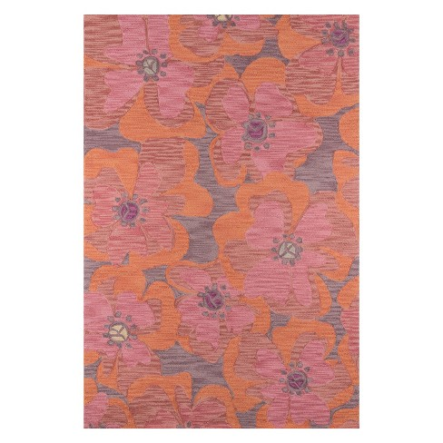 Summit Avril Floral Hooked Accent Rug - Momeni - image 1 of 4