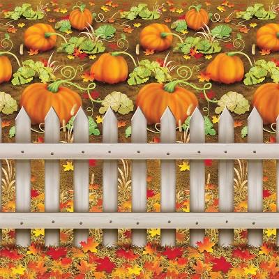 Pumpkin Patch Halloween Backdrop
