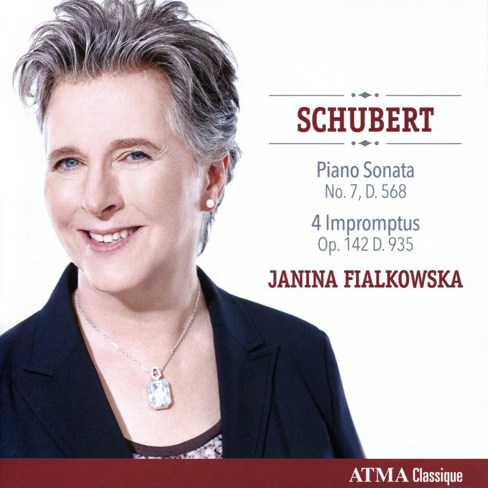 Janina Fialkowska - Schubert:Piano Son No 7 Op 122 D 568 (CD)