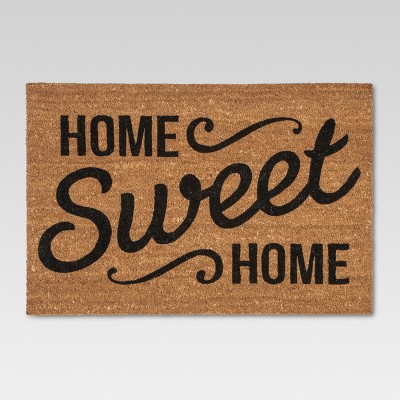 """doormat home sweet home estate 23\""""x35\"""" threshold™ targetshe\u0027s cute on the outside too! this beauty is getting her glamour shots this week and we can\u0027t wait to share them with you 😍🏡 floor color benjamin"""