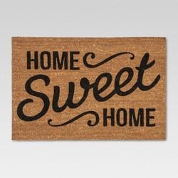 "Doormat Home Sweet Home Estate 23""x35"" - Threshold™"