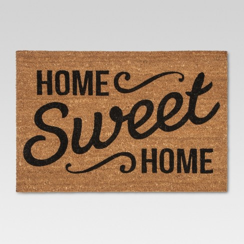 "Doormat Home Sweet Home Estate 23""x35"" - Threshold™ - image 1 of 2"