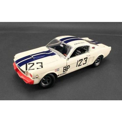 1965 Ford Shelby Mustang GT350 R #123 Signed by Charlie Kemp Limited to 123pcs 1/18 by Acme - image 1 of 1