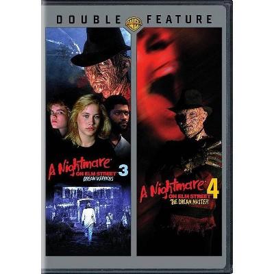 A Nightmare on Elm Street 3 & 4 (DVD)(2015)