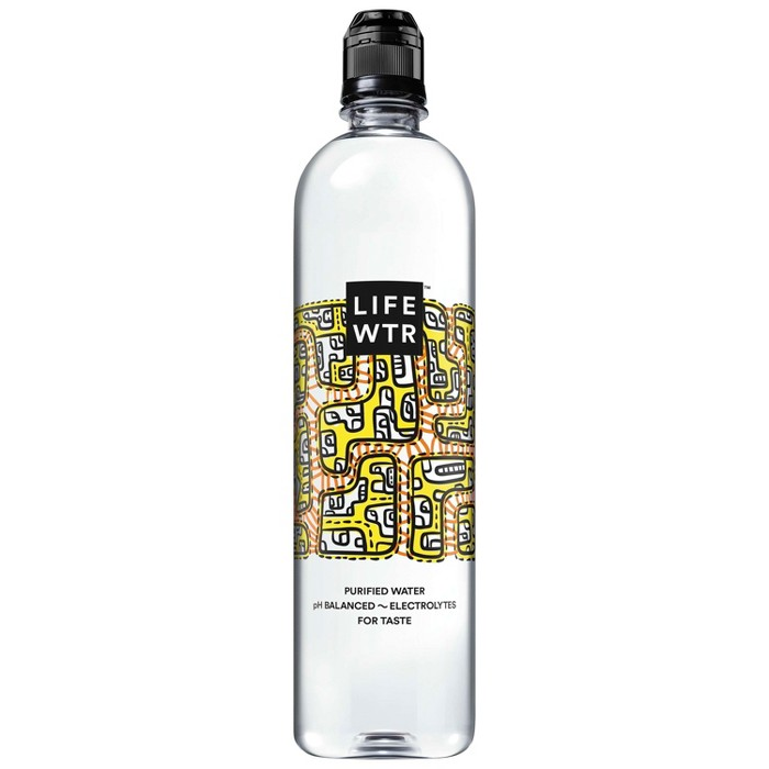 LIFEWTR Premium Purified Water - 700 ml Bottle - image 1 of 4
