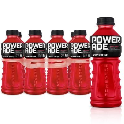 POWERADE Fruit Punch Sports Drink - 8pk/20 fl oz Bottles