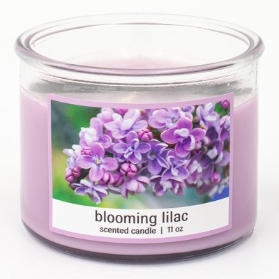 11oz Glass Jar 3-Wick Clasico Blooming Lilac Candle