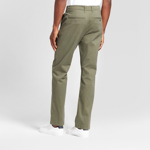 2fa84abf9605 Men's Slim Fit Hennepin Chino Pants - Goodfellow & Co™ Olive : Target