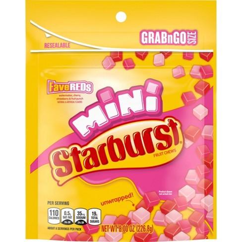 Starburst Minis FaveREDs Fruit Chews - 8oz - image 1 of 4