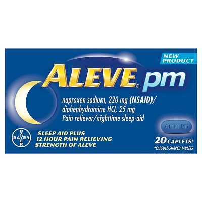 Pain Relievers: Aleve PM
