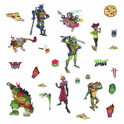 Rise of The Teenage Mutant Ninja Turtles Peel and Stick Wall Decals - RoomMates