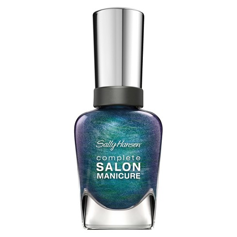 Sally Hansen Complete Salon Manicure - Black And Blue : Target