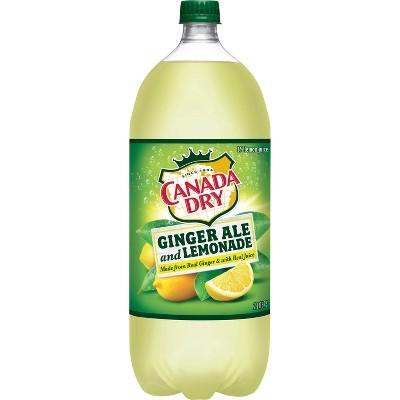 Canada Dry Ginger Ale and Lemonade - 2 L Bottle