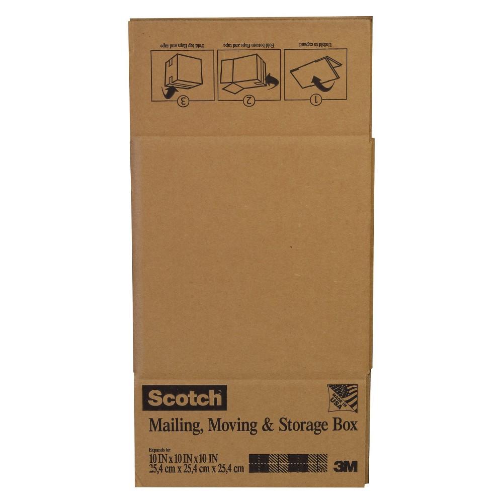 Scotch Mailing Box 10 x 10, White