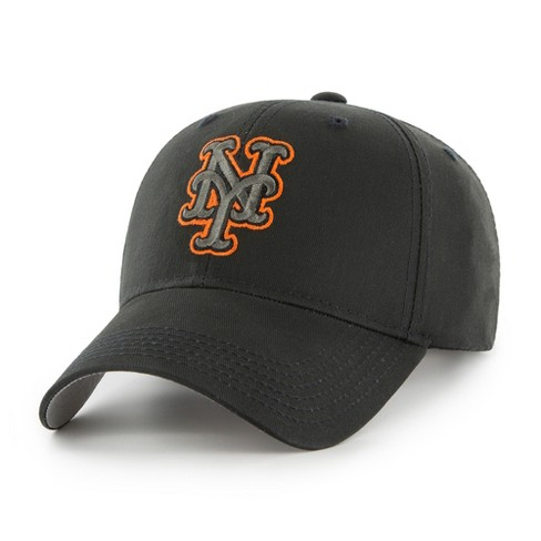 d74796834155 MLB New York Mets Classic Black Adjustable Cap Hat By Fan Favorite   Target