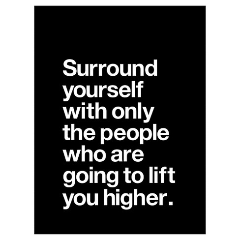 Surround Yourself by Brett Wilson Unframed Wall Art Print - image 1 of 2