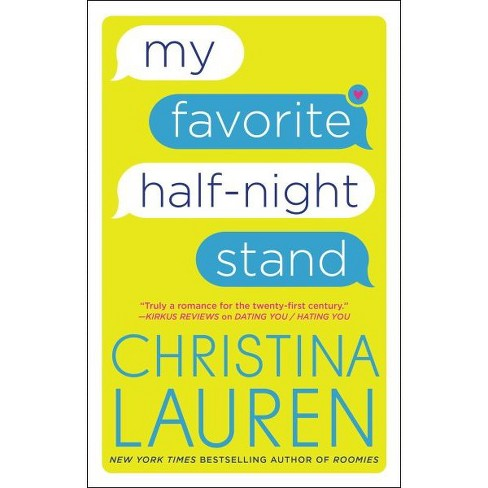 My Favorite Half-night Stand -  by Christina Lauren (Paperback) - image 1 of 1