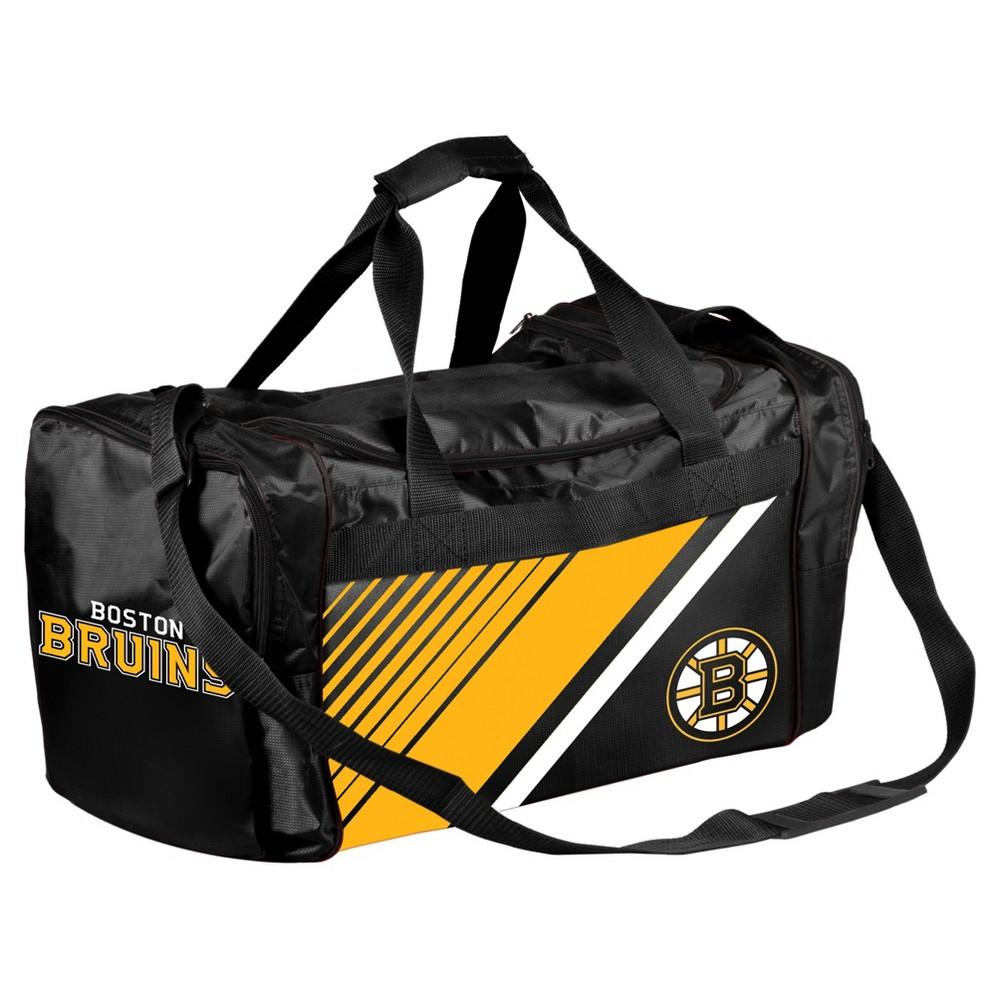 NHL Boston Bruins Border Stripe Duffel Bag