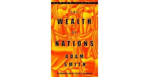 Wealth of Nations (Reprint) (Paperback) (Adam Smith) - image 1 of 1