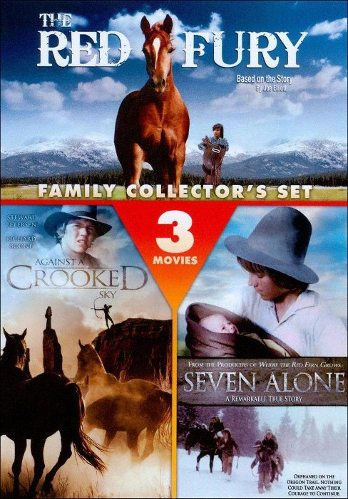 Family Adventure: The Red Fury/Seven Alone/Against a Crooked Sky (dvd_video) - image 1 of 1