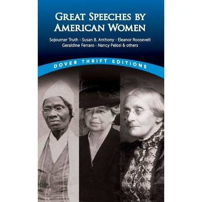 Great Speeches by American Women - (Dover Thrift Editions) by  James Daley (Paperback)