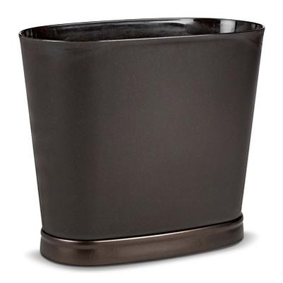 Wastebasket ID Gina Oval Bronze - InterDesign®
