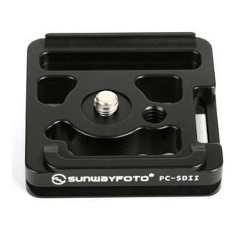 SunwayFoto PC-5DII Custom Quick-Release Plate for Canon 5D Mark II Camera - image 1 of 2