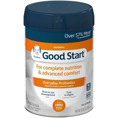 Gerber Good Start GentlePro Infant Formula Powder with Probiotics & HMO - 32oz