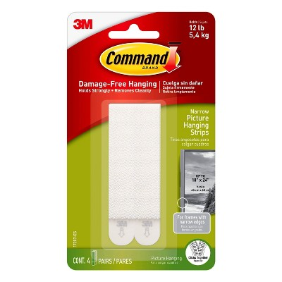 Command Narrow Picture Hanging Strips