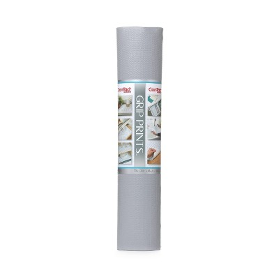 """Con-Tact Grip Prints Single Pack 20""""x24' Alloy Gray"""