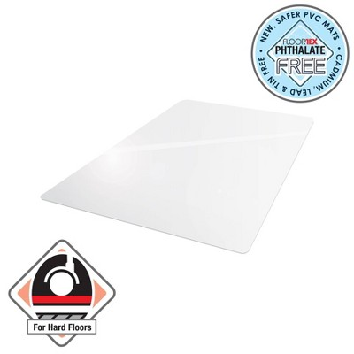 "30""x48"" Rectangular Advantage Mat for Hard Floor - Cleartex"