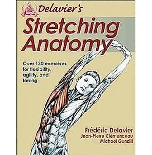 Delavier's Stretching Anatomy (Paperback) - image 1 of 1