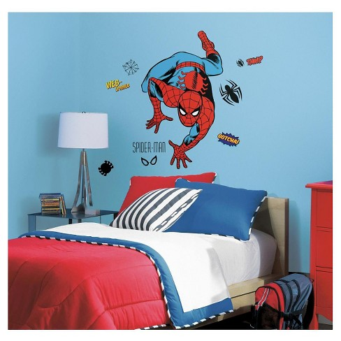 RoomMates Marvel Classic Spider-Man Peel and Stick Giant Wall Decals - image 1 of 2