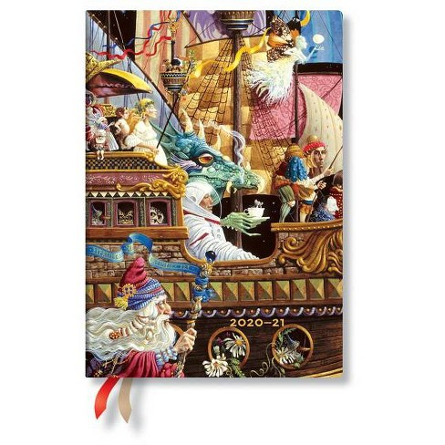 Paperblanks 2020-2021 Maiden Voyage MIDI 18-Month - (Hardcover) - image 1 of 1