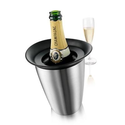 Vacu Vin Elegant Active Cooler Champagne Stainless Steel