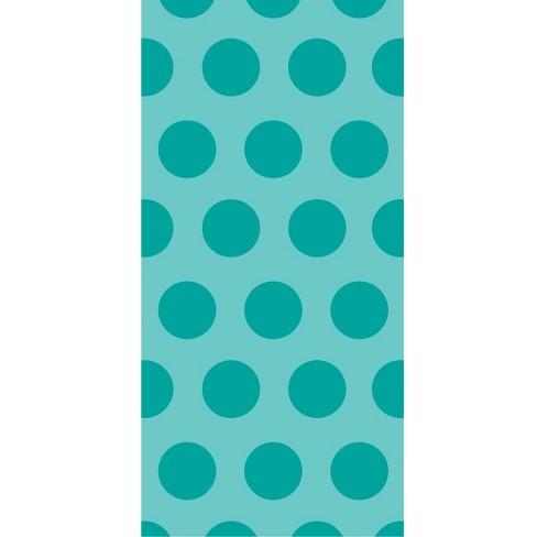 20ct Polka Dot Favor Bags Teal - image 1 of 2