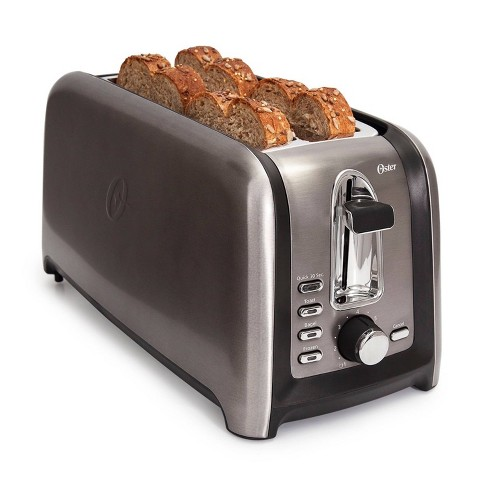 Oster 4-Slice Toaster Oven - Silver - image 1 of 4