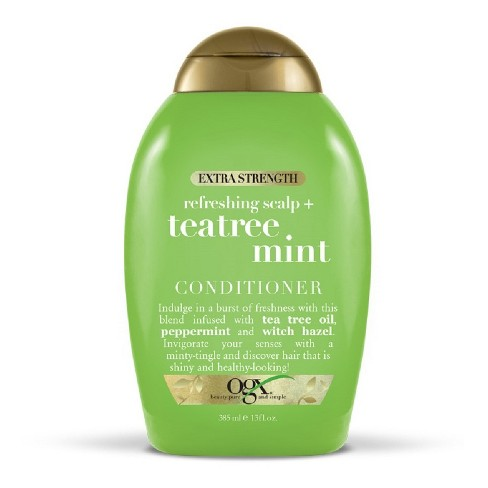 OGX Extra Strength Refreshing Scalp + Tea Tree Mint Conditioner - 13 fl oz - image 1 of 2