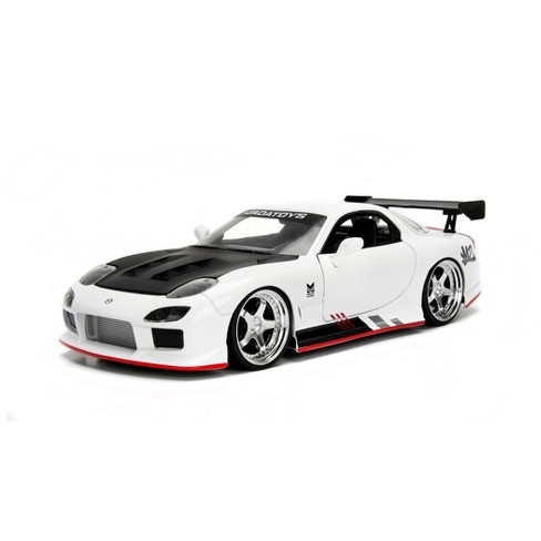 Jada Toys JDM Tuners 1993 Mazda RX-7 Die-Cast Vehicle 1:24 Scale Glossy White - image 1 of 4