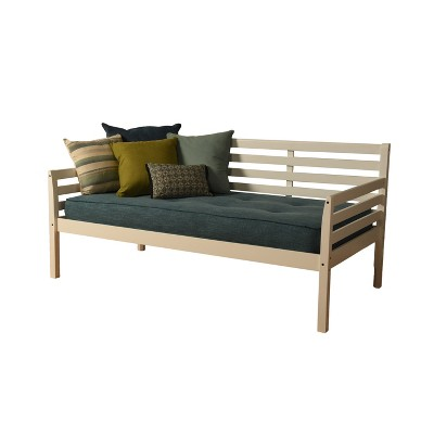 Yorkville Daybed White/Aqua - Dual Comfort