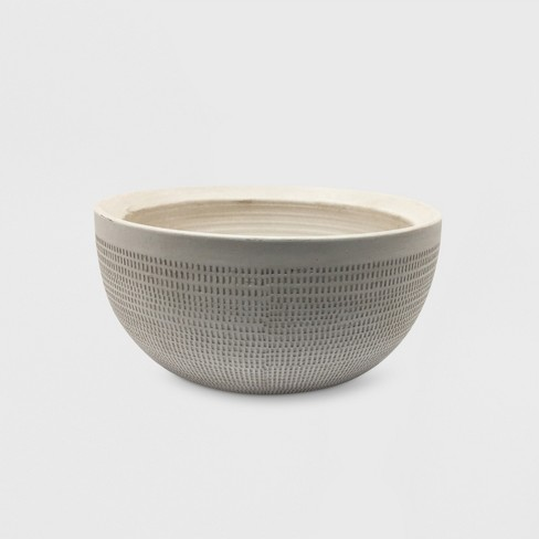 """5"""" Textured Ceramic Planter White - Project 62™ - image 1 of 2"""