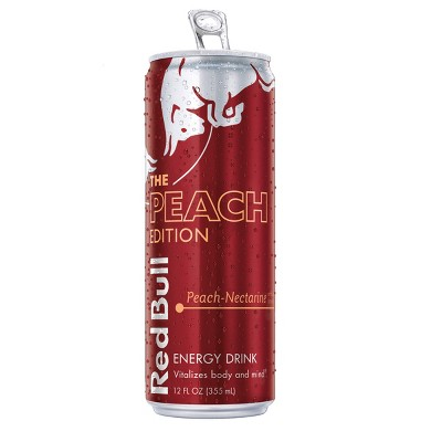 Red Bull Peach Energy Drink - 12 fl oz Can