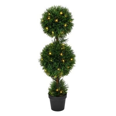 Vickerman Artificial Cedar Ball Topiary