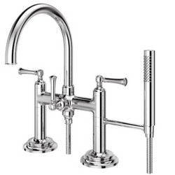Pfister LG6-2TB Tisbury Deck Mounted Tub Filler