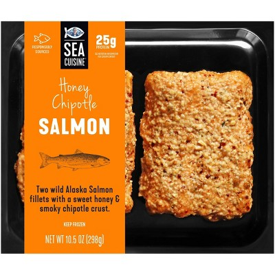 Sea Cuisine Honey Chipotle Salmon - Frozen - 10.5oz