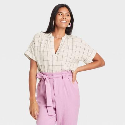 Women's Short Sleeve Top - A New Day™