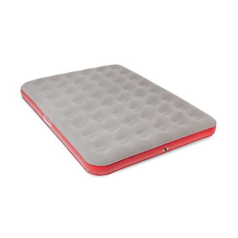 coleman single air mattress Coleman® QuickBed Air Mattress Single High Queen with Pump   Gray  coleman single air mattress