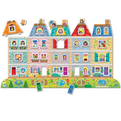 The Learning Journey  Puzzle Doubles! Create A Scene Neighborhood 60+ pieces.