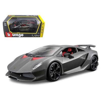 Lamborghini Sesto Elemento Matt Grey 1/24 Diecast Car Model by Bburago